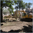 Demolition House's at King St. & Rectory St. London for Western Fair Association